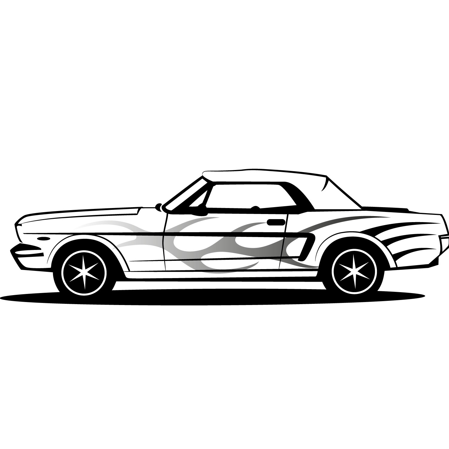 Mustang clipart images or stallion mascot 2