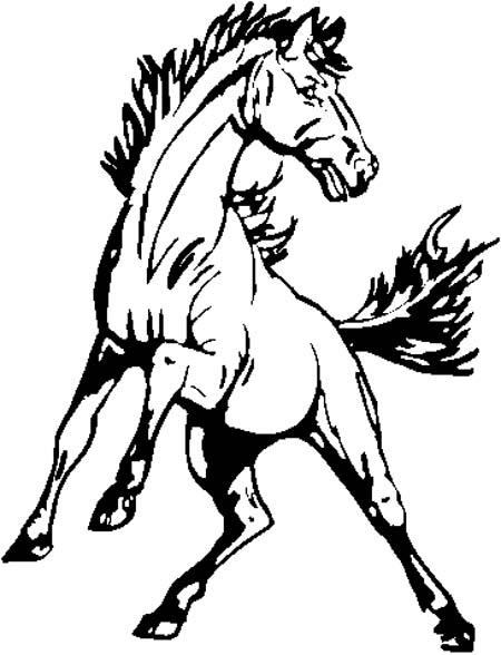 Mustang mascot cliparts free download clip art