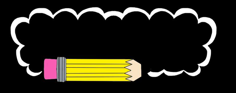 Pencil border clipart borders and frames snowjet co clip art
