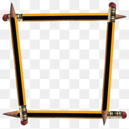 Pencil border images vectors and psd files free download 4