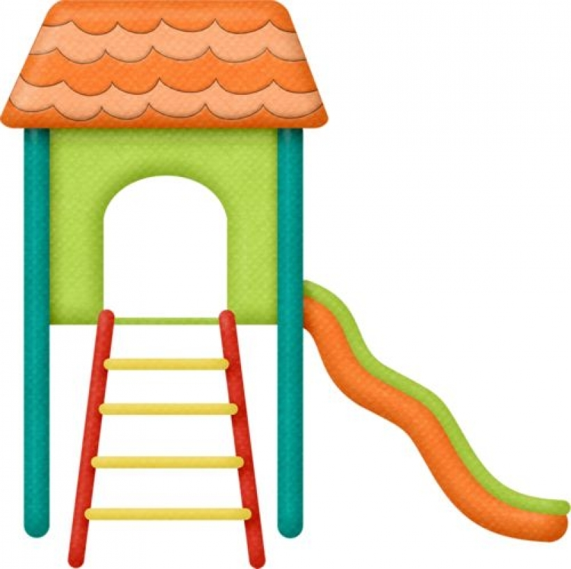 Playground slide clipart 3 clipart