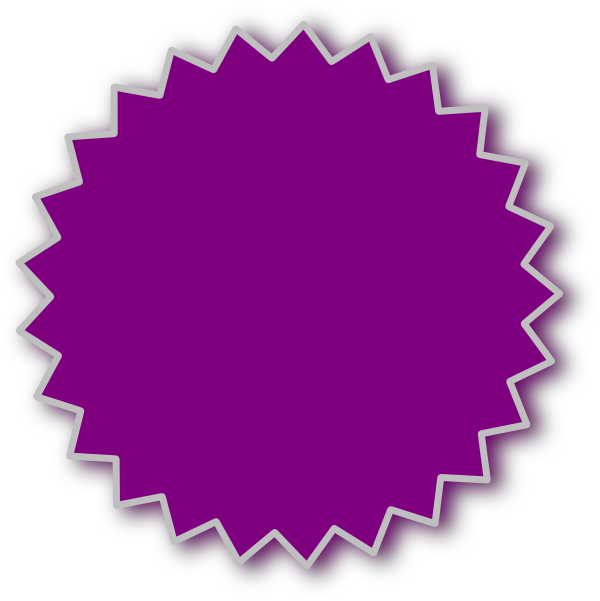 Purple starburst clipart cliparts and others art inspiration