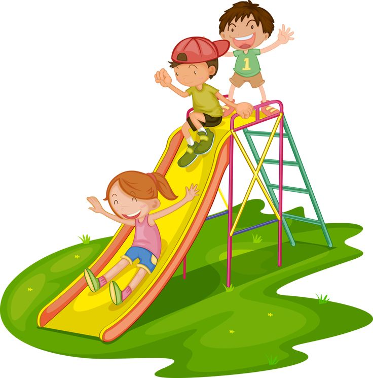 Slide parks clipart