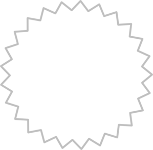 Starburst clip art at vector 2 image