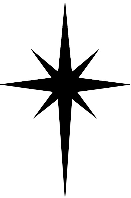 Starburst clip art star rating clipart image