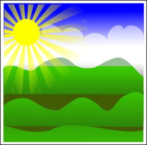 Sunny clip art at vector clip art free