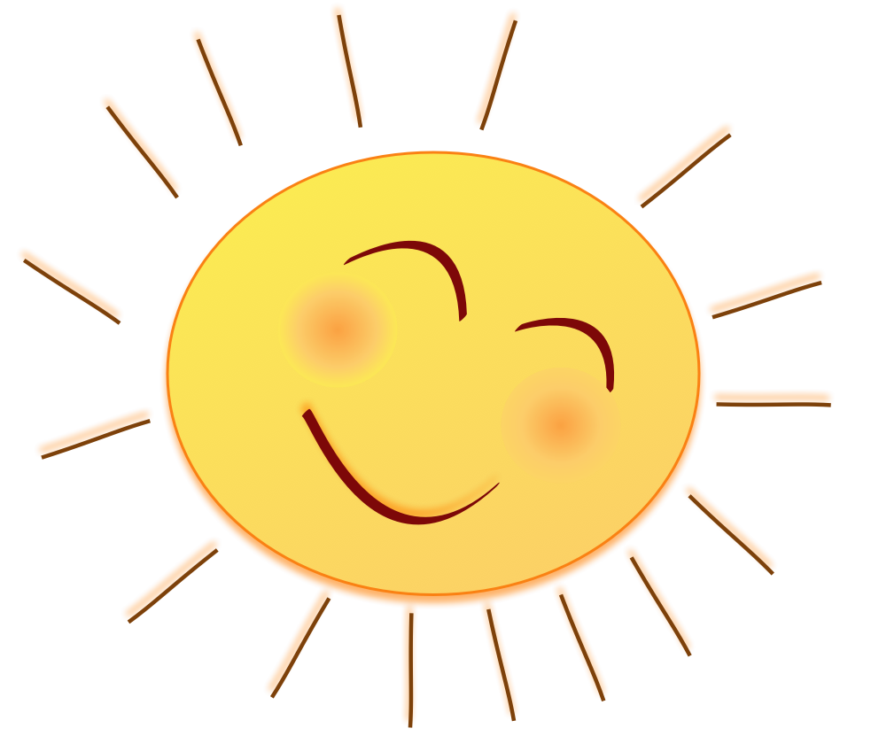 Sunny clipart hostted clipart