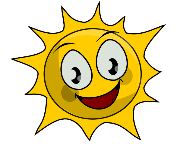 Sunny day clipart 2 clipart