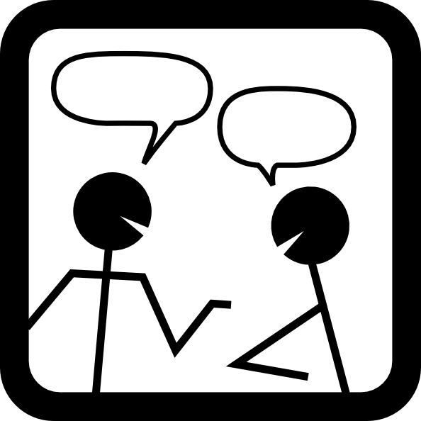 Talking clipart tiny