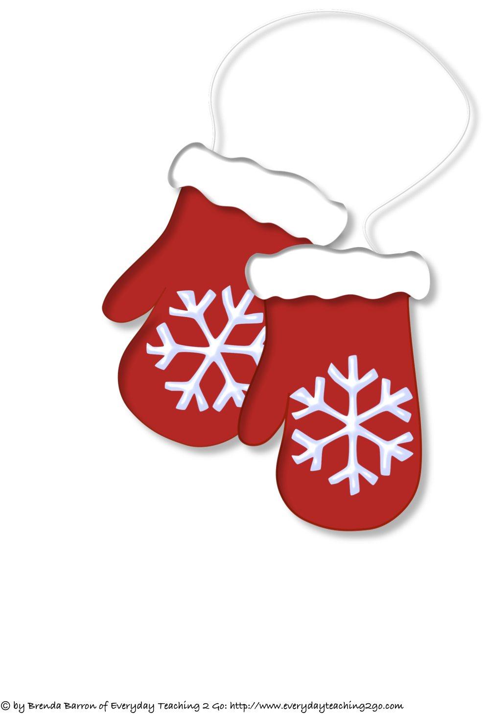 Christmas mittens clipart – Gclipart.com