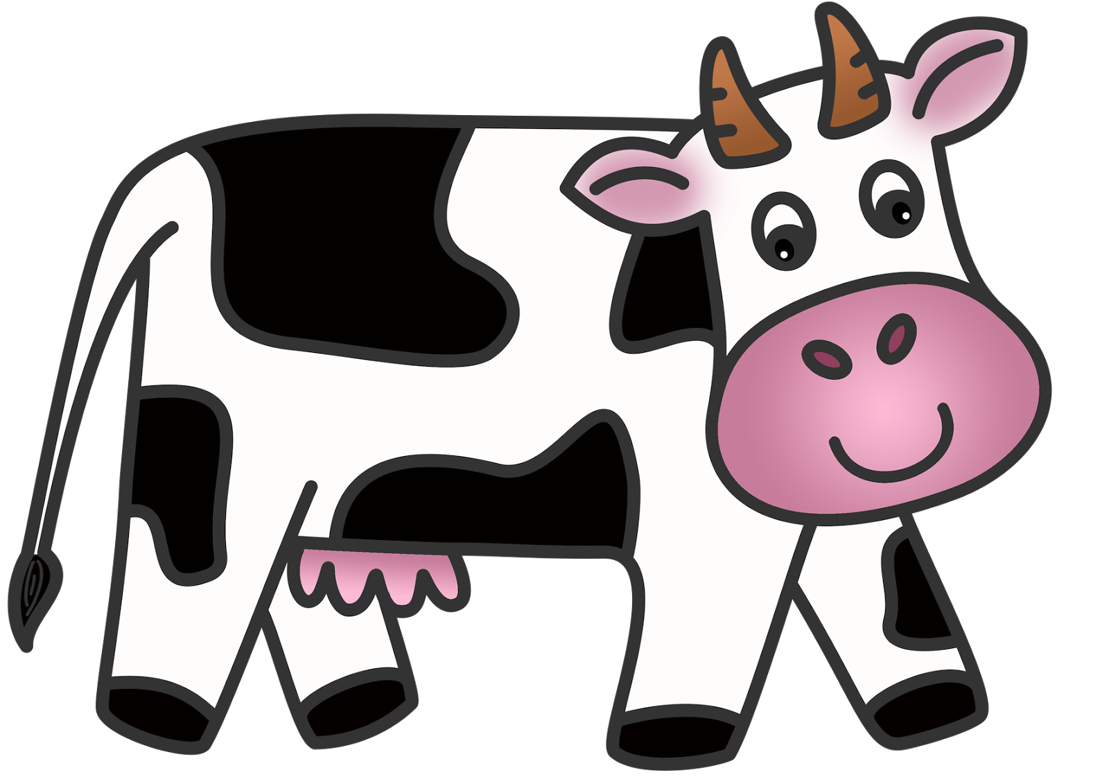 Animated dairy cow clipart cliparts and others art inspiration