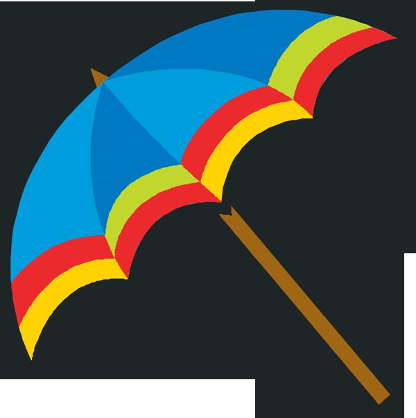 Blue umbrella clipart free images 2