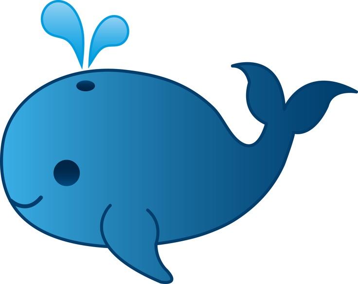 Blue whale clip art free clipart images