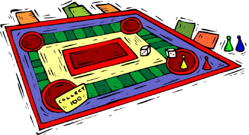 Board games clip art free game clipart images
