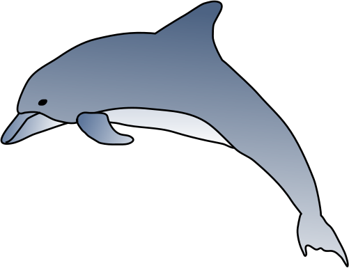 Bottlenose dolphin clipart gallery clip art library