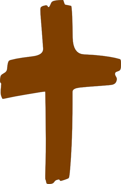 Brown cross clip art free clipart images