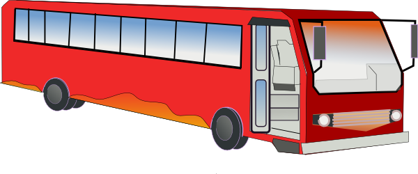 Bus clip art free vector 4vector clipart