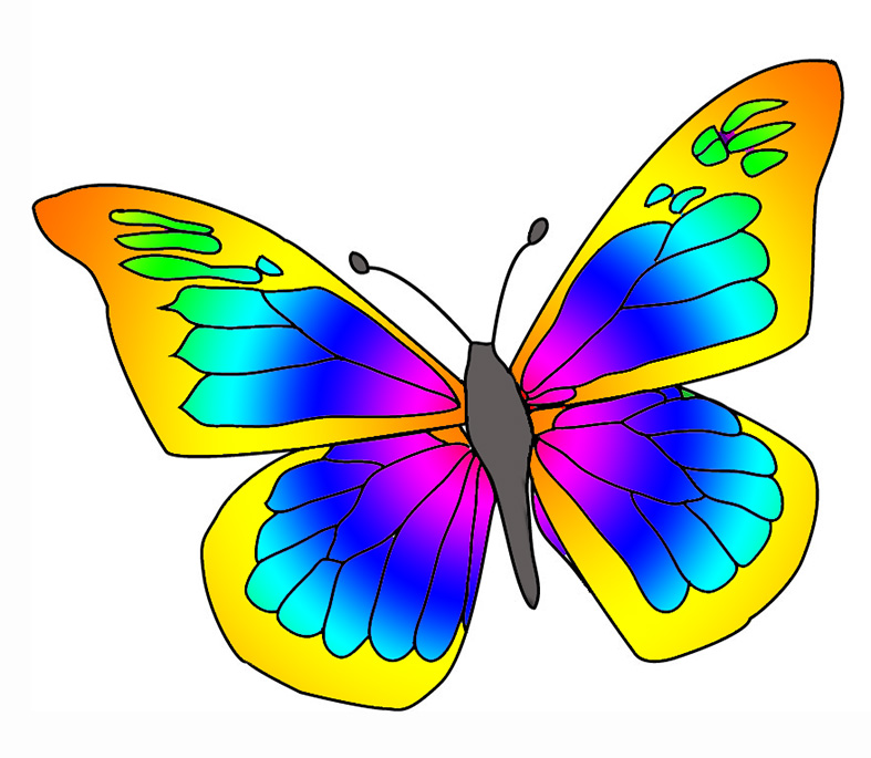Butterfly clip art butterfly clipart graphicsde