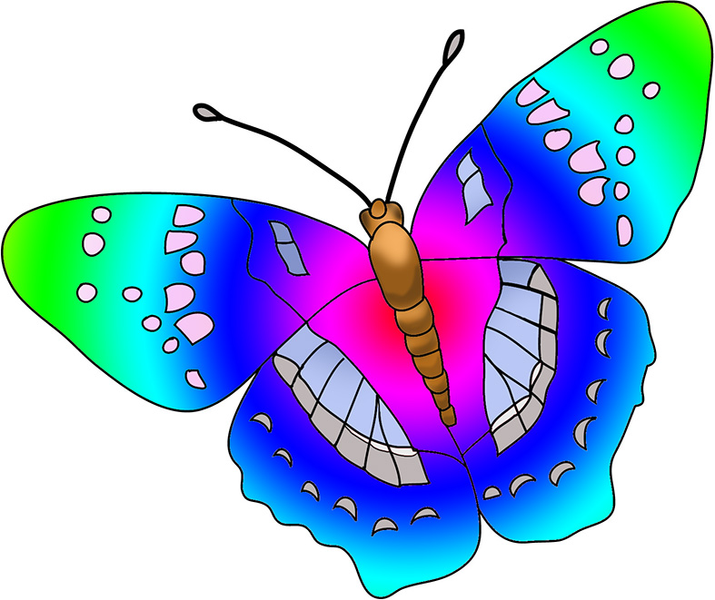 Butterfly clipart 4
