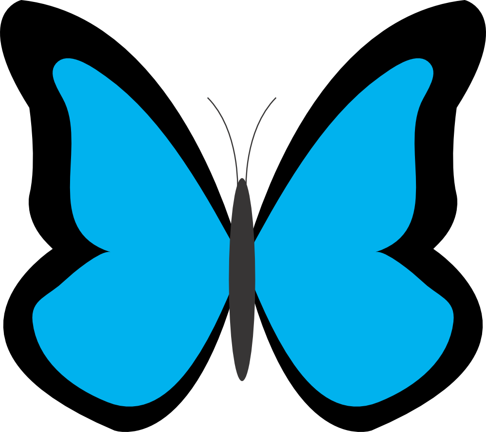 Butterfly clipart free images 3