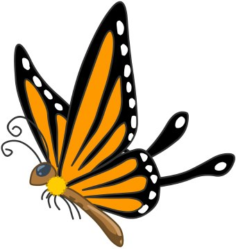 Butterfly clipart free images 6 2