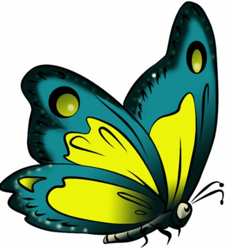 Butterfly clipart free images 6