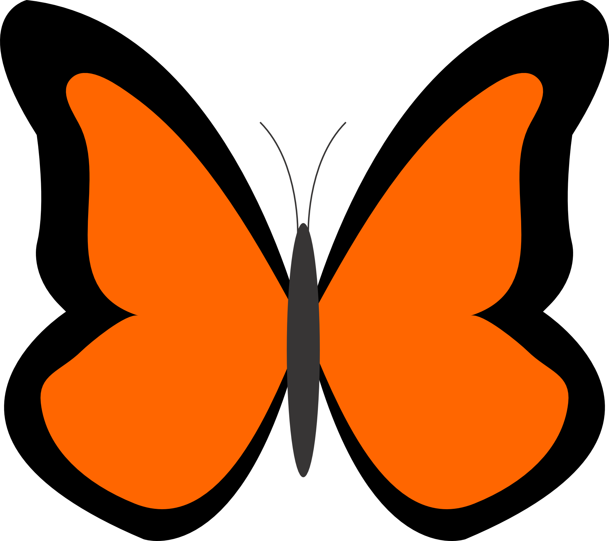Butterfly clipart free images