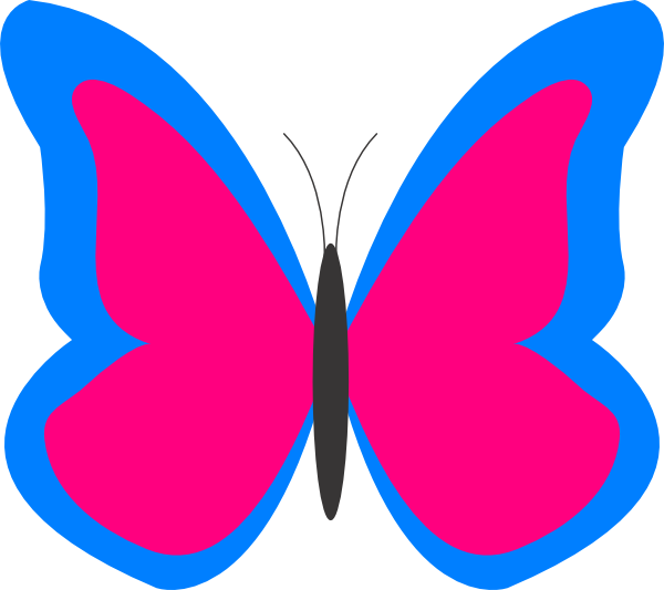 Butterfly clipart vector