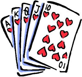 Card games clipart clipground