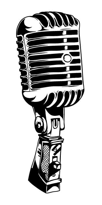 Clip art microphone clipart image on clipart microphone