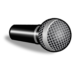Clip art microphone clipart image