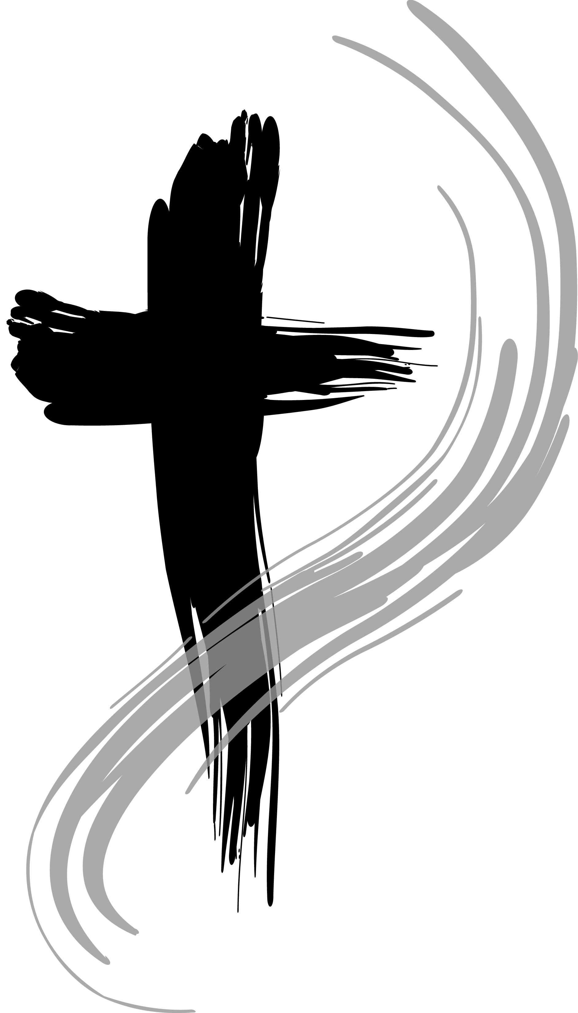 Clip art of the cross clipart image 4 clipartandscrap