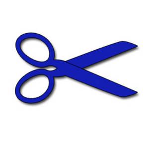 Clip art scissors dotted line clipart clipart