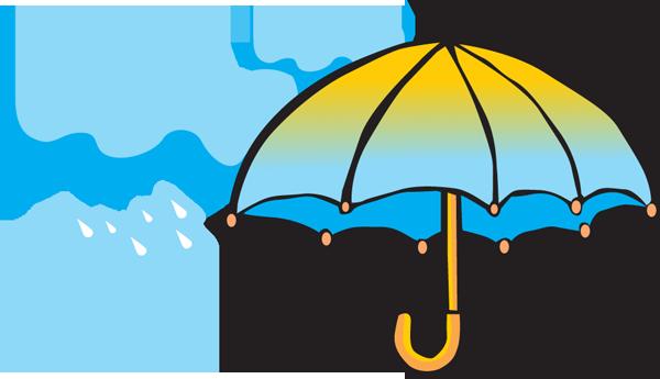 Clip on umbrella clipart clipartbold