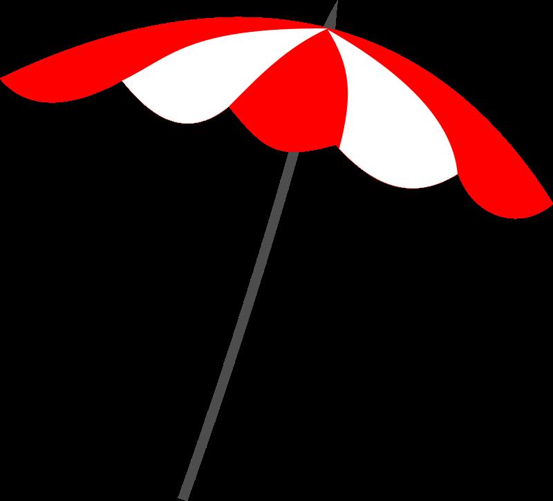 Clipart beach umbrella