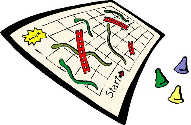 Clipart board games collection clip art