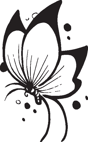 Clipart butterfly clip art free borders image 7