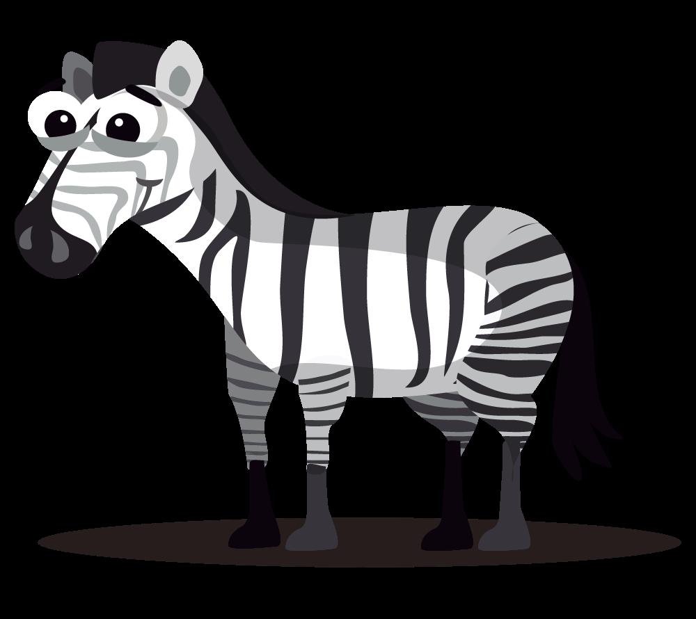 Clipart cute zebra free clip art clipartbarn
