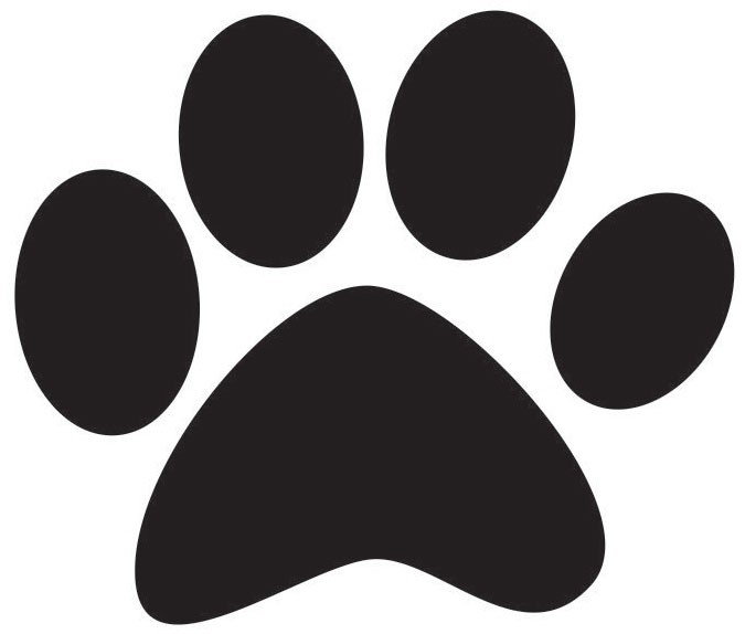 Clipart dog paw print clipart 2 image 4