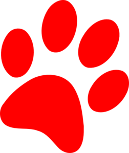 Clipart dog paw print clipart 2 image