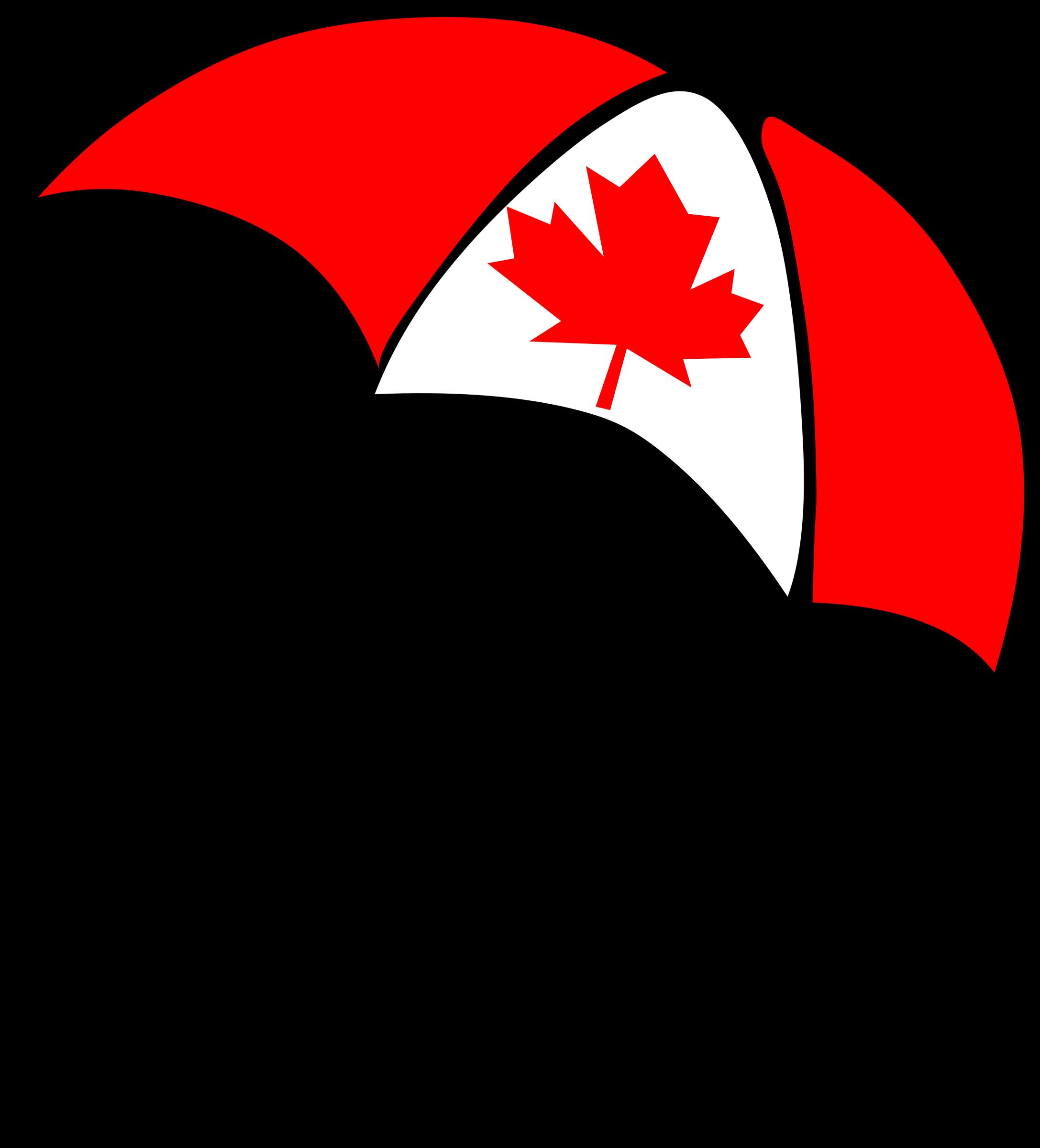 Clipart umbrella canada