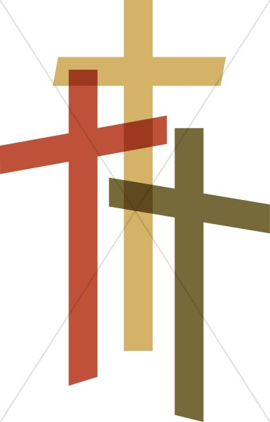 Contemporary cross clipart