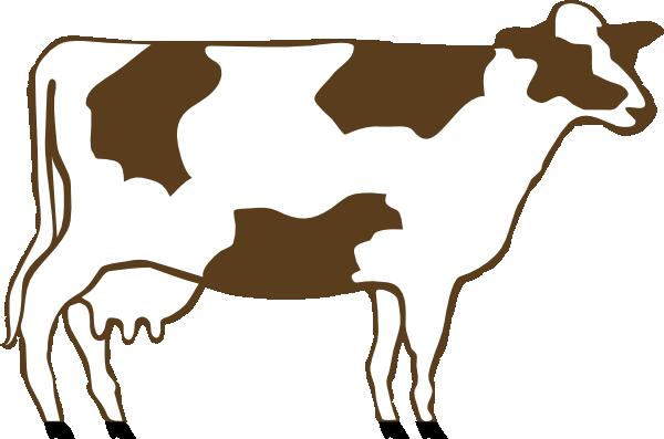 Cow 5 clip art at vector clip art free