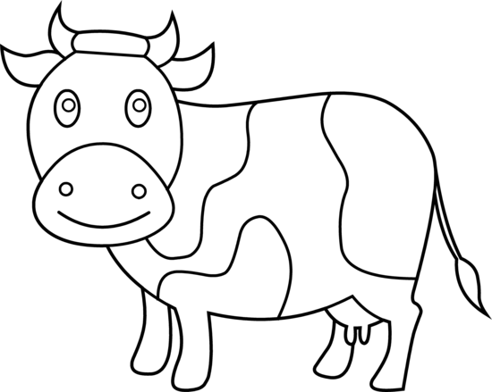 Cow clip art for kids free clipart images 3
