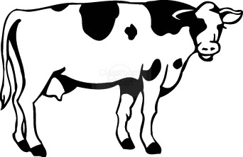 Cow clip art free cartoon clipart images 2 2