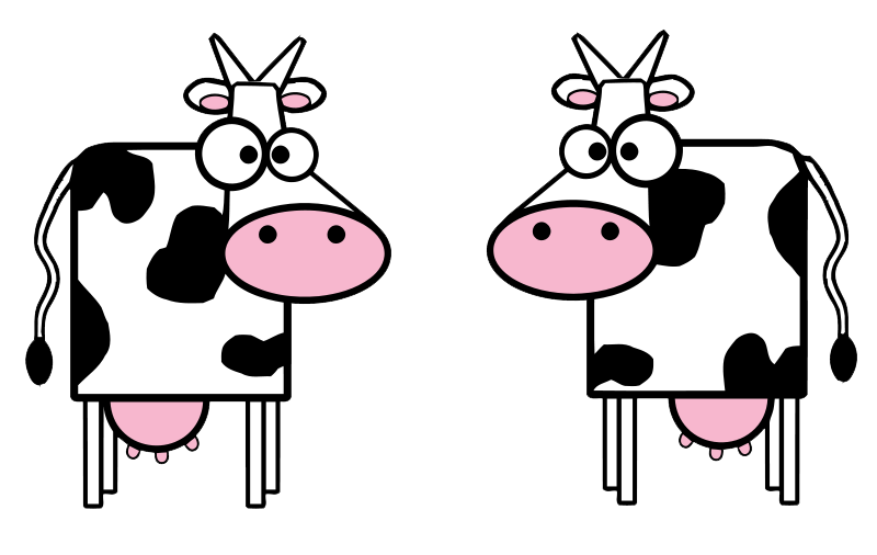 Cow clip art free holding a sign clipart images 2