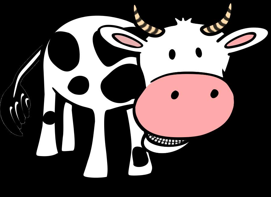 Cow clip art outline free clipart images