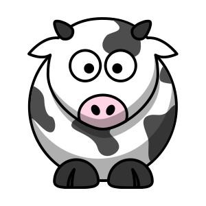 Cow clip art pictures cartoon clipart image 5