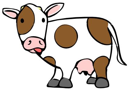 Cow clip art pictures cartoon clipart