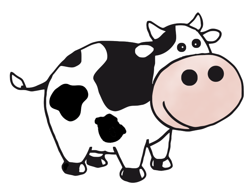 Cow clipart 2